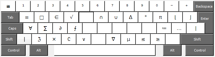 Math Keyboard Layout For Qwerty On Windows Description And Download